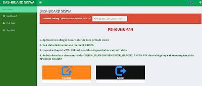Aplikasi Sistem Data Pendidikan (SIDADIK)