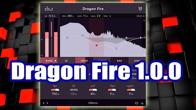 Dragon Fire 1.0.0 by Denise Audio -  VST, VST3, AU (macOS)