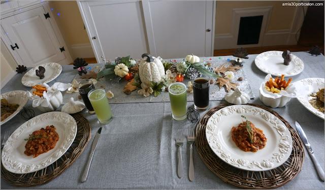 Comida de Nuestra Cena de Acción de Gracias 2020