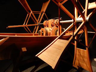 LEONARDO INTERACTIVE MUSEUMに展示された船