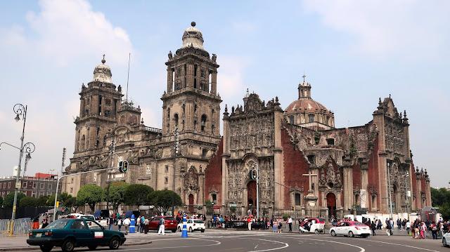 ciudad de mexico casco histórico a golpe de objetivo