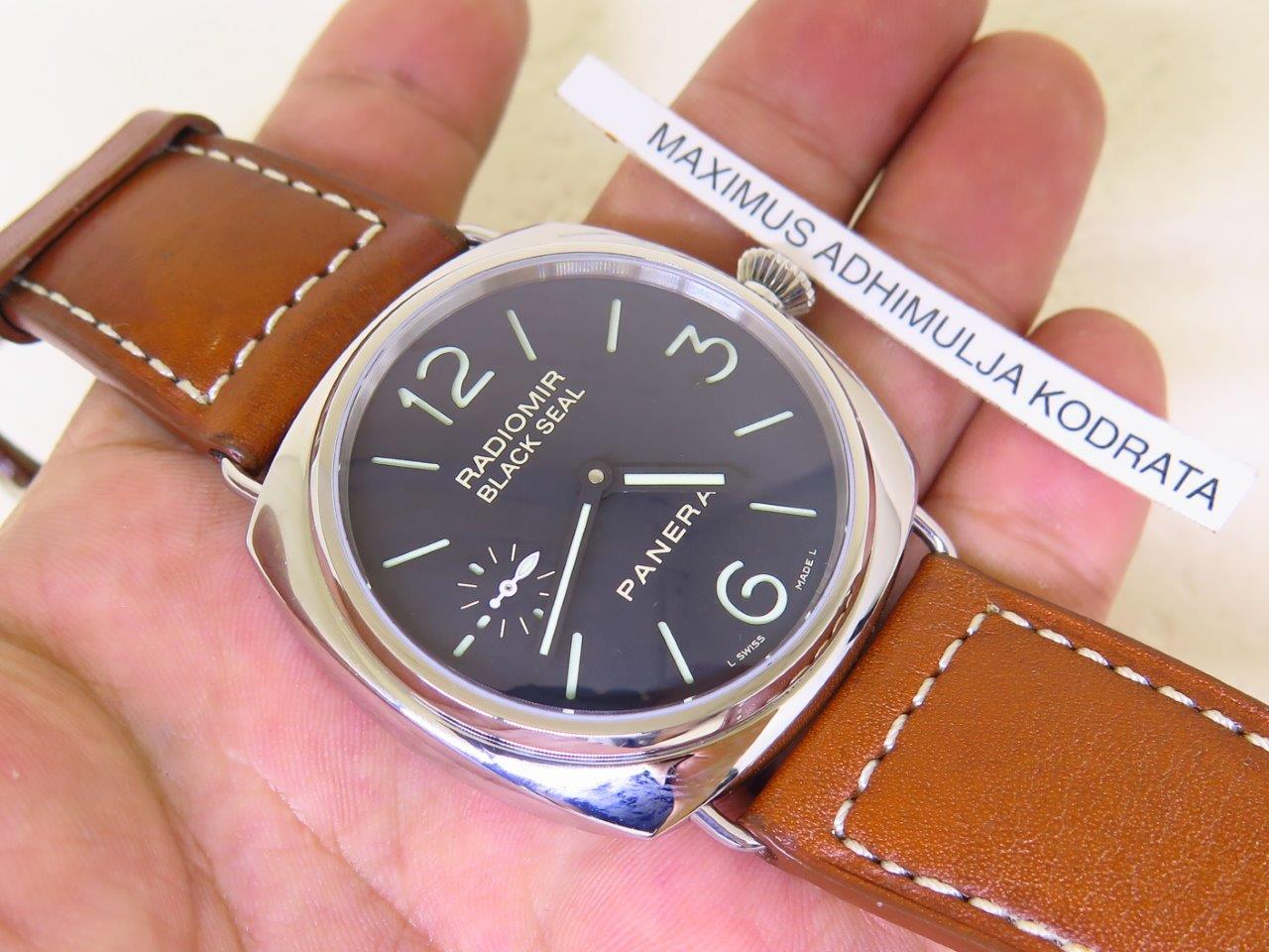 PANERAI RADIOMIR BLACK SEAL PAM 183 - MANUAL WINDING