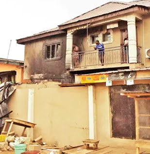 security guard burnt to death shomolu lagos