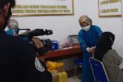 Dukung Program Pemerintah, Koramil 0602-01/Kota Serang Gelar Vaksinasi Massal