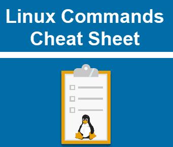 Unix/Linux Commands Cheat Sheet 2021!