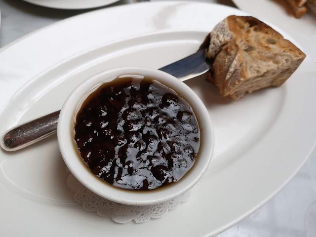 Parfait of Foie Gras au raisin sec