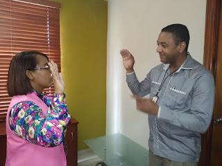 Posesionan nuevos funcionarios en  la Junta Municipal de Cabral