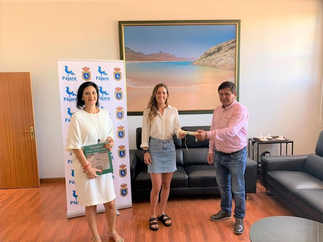 Fuerteventura.- Pájara nombra embajadora turística mundial a la deportista Julia Castro.