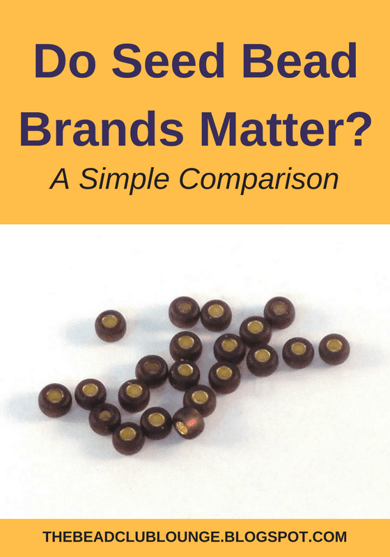 See how seed beads made by various manufacturers can differ and impact your beading.