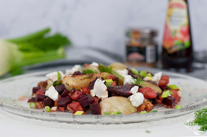 Fenchelsalat mit roter Bete