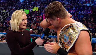 The Miz Dean Ambrose Renee Young IC Title Nikki Bella