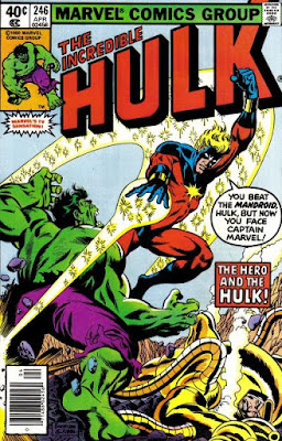 Incredible Hulk #246, Captain Marvel