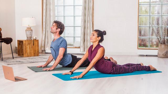 ghar par yog kaise kare