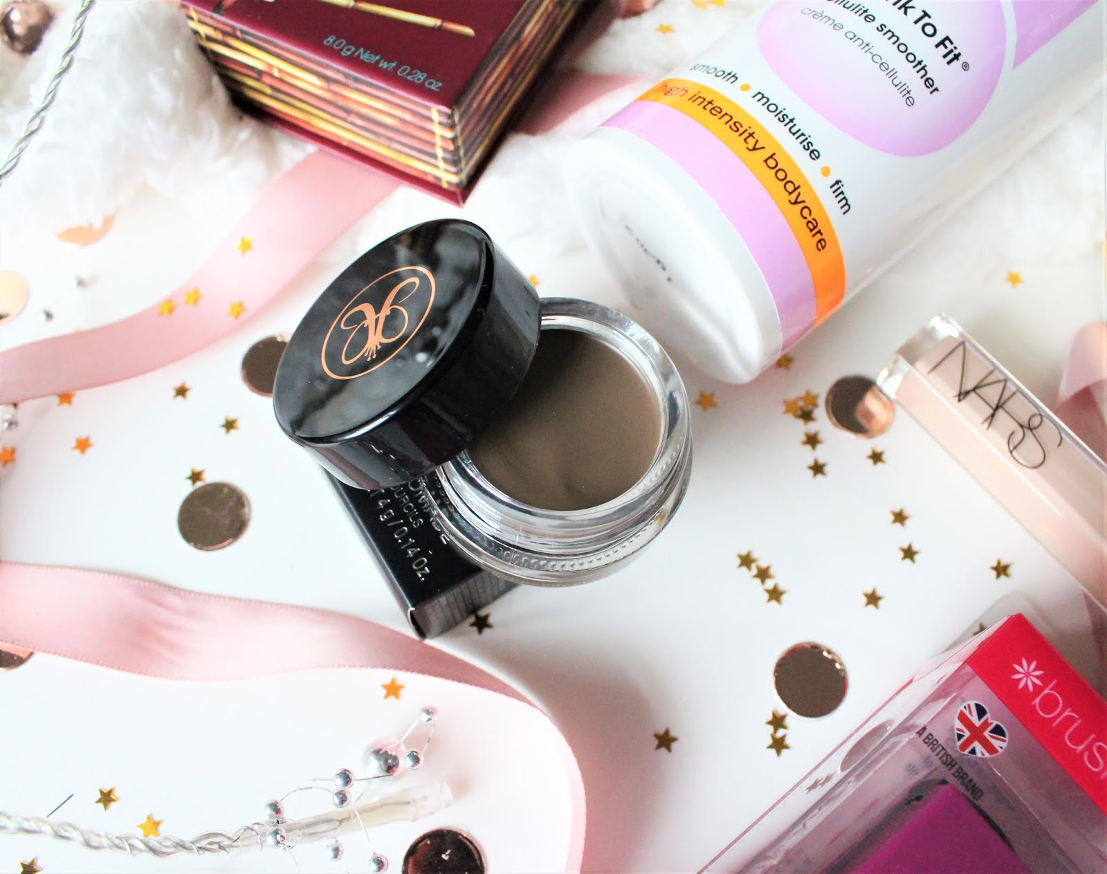 anastasia beverly hills pomade review blog