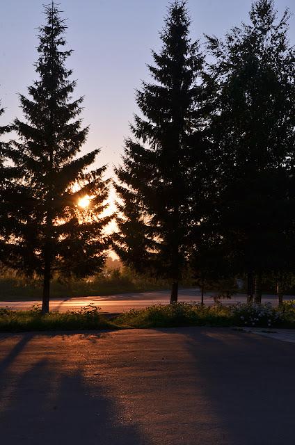 Закат в Лысьве