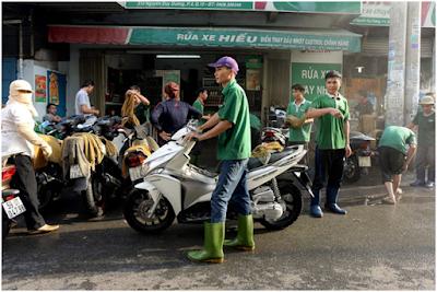 Dịch vụ rửa xe máy