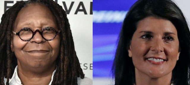 Whoopi Tells Nikki Haley To Stay Out Of Her 'Coochie.' Nikki Haley Responds.