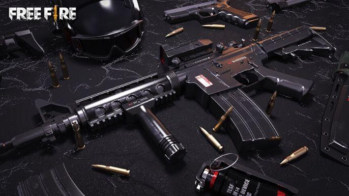 Um wallpaper para quem gosta de equipamentos e armas