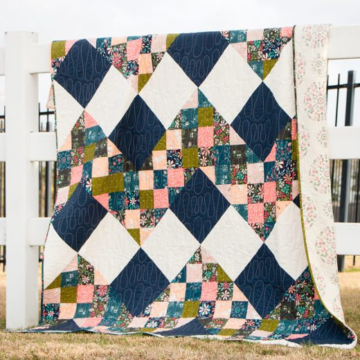 Vibrations Quilt by Nana K of What's Nana Making, The Pattern by Art Gallery Studios for Fat Quarter Shop