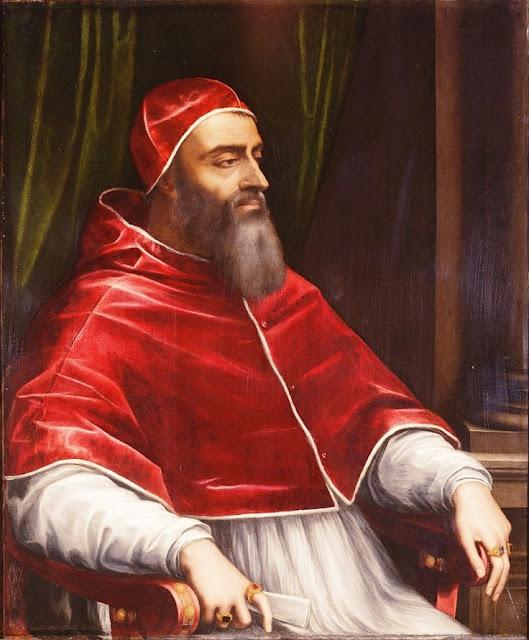 Clemente VII, um dos piores papas.