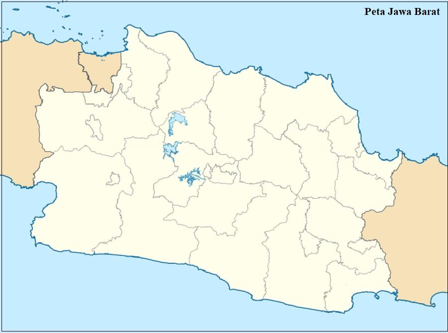 Peta Buta Provinsi Jawa Barat