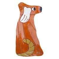 Custom handmade dog wall art
