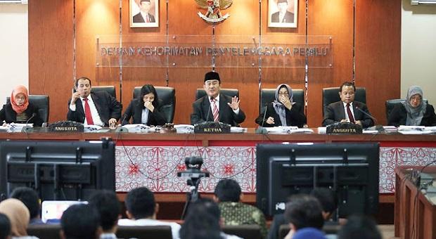 Terbukti Melanggar Etik, DKPP Pecat Lima Penyelenggara Pemilu