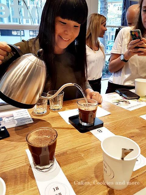 Kaffeetasting mit Emi im Mame am Saeco Coffee Tasting Event von Philips