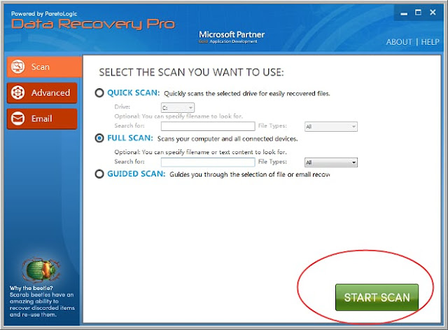 Recover file encrypted by msop