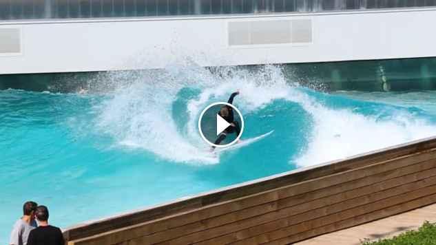 Mayhem Surf Team shred the Wavegarden Cove