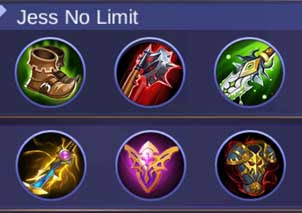 Build fanny tersakit jess no limit