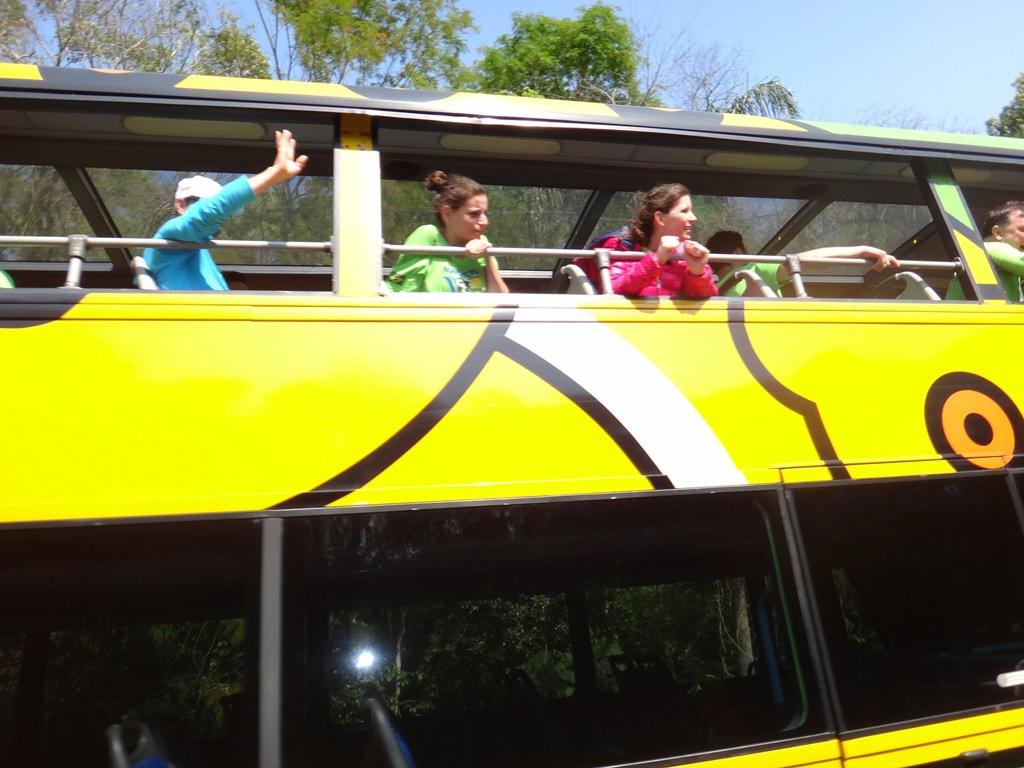 Ônibus interno do Parque Nacional do Iguaçu