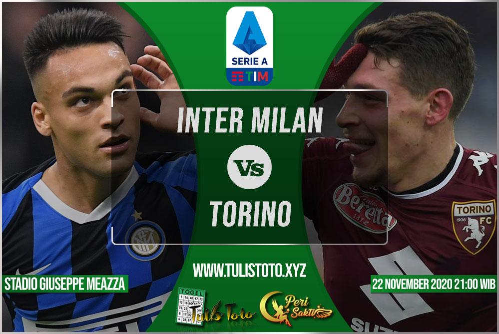 Prediksi Inter Milan vs Torino 22 November 2020