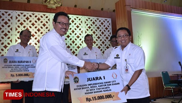 Wali Kota Yogyakarta Apresiasi OPD yang Terapkan Smart City