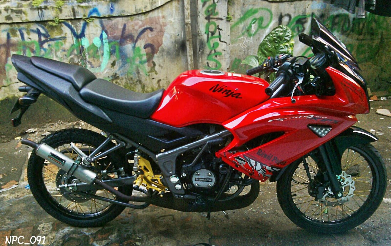 Download Koleksi 43 Gambar Modifikasi Motor Ninja Rr Warna Merah Terbaru Lawang Motor