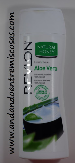 Loción Aloe vera de Natural Honey