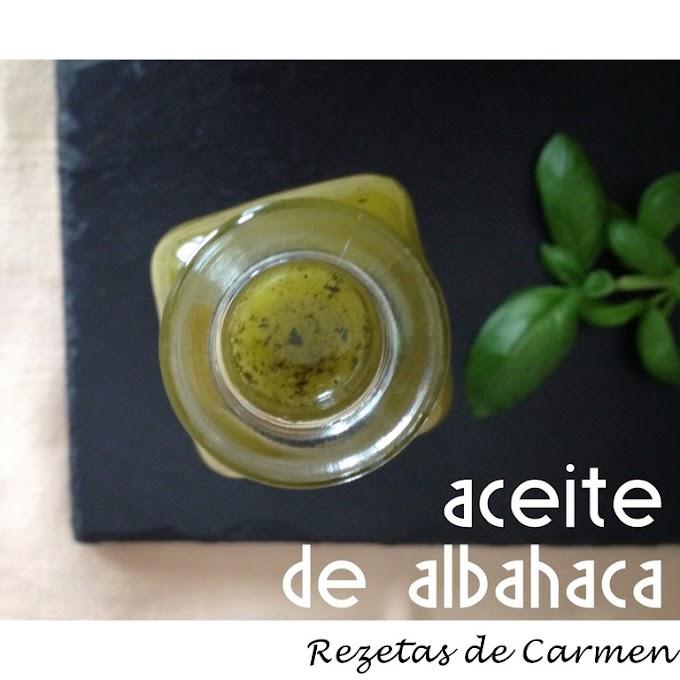 Como hacer aceite de albahaca