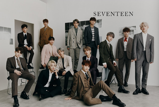 SEVENTEEN has succeeded in dominating foreign music charts thanks to their latest album, 'An Ode'.