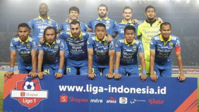 Line-up Persib Bandung Liga 1 2019