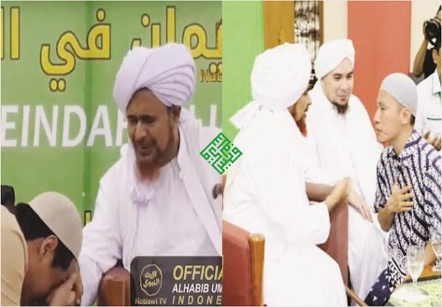 Ustadz Felix dan Roger Danuarta Cium Tangan Cucu Rasulullah Habib Umar bin Hafidz