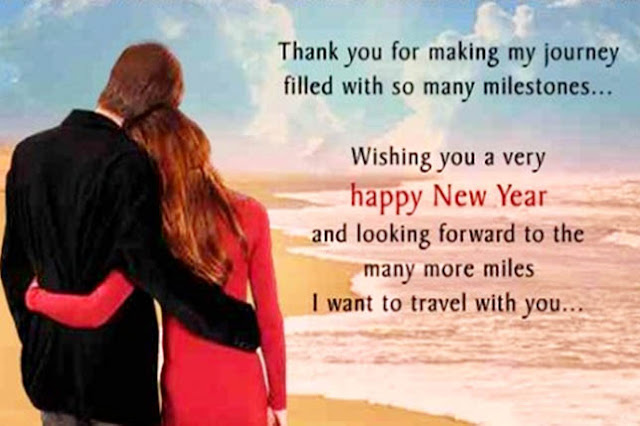 Happy New Year Wishes for Husband, Wife and Fiance | New ...
