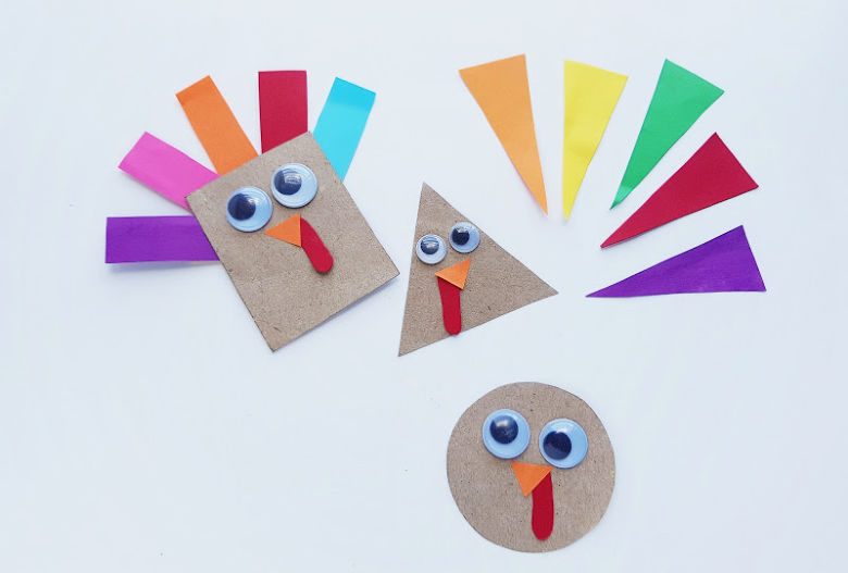 Thanksgiving craft for toddlers and preschoolers
