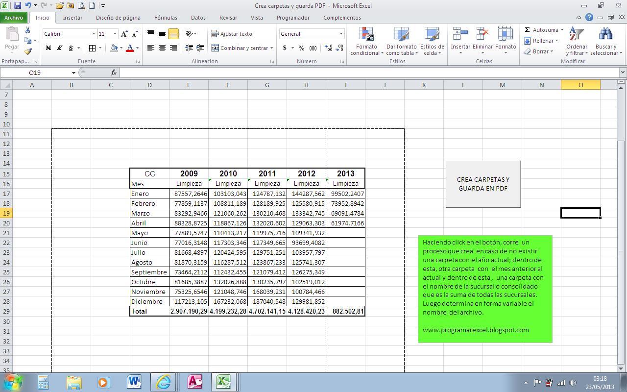Manual De Excel Con Macros