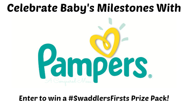 Celebrate Baby's Milestones with Pampers #SwaddlersFirsts