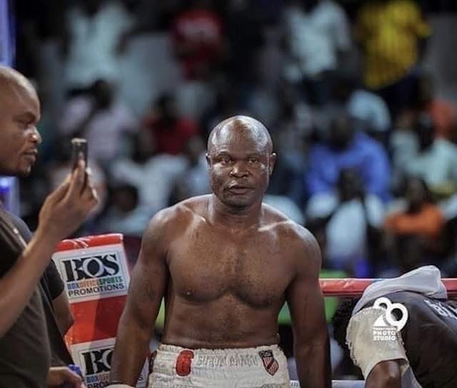 VIDEO: How Bukom Banku won his first fight outside Ghana