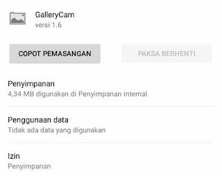 1. Silahkan anda unduh dan install terlebih dahulu file apk gallerycamnya dibawah ini:  Gallerycam (1,3 mb): https://sfile.mobi/8iCGKUYA48H