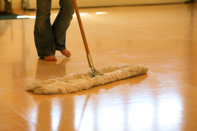 Broom For Wooden Floors