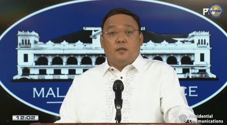 Presidential Spokesperson Secretary Harry Roque Jr
