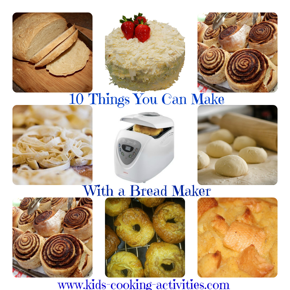 how to make bread with a bread maker machine