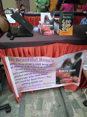 Books Amazing Legends of India and The Beautiful Roses on display